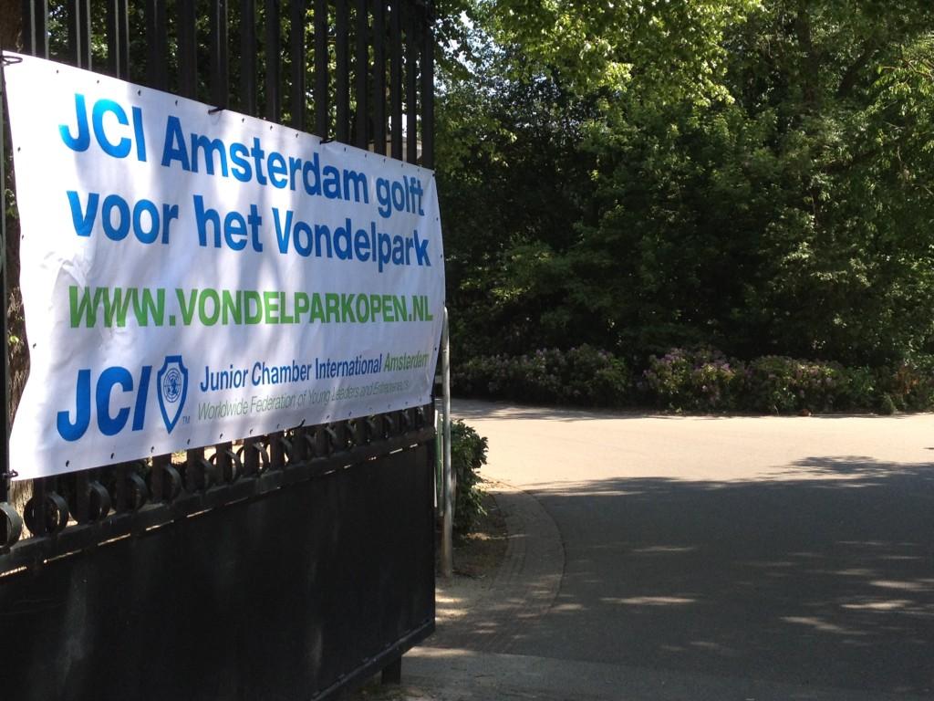 Vondelpark open: welkom
